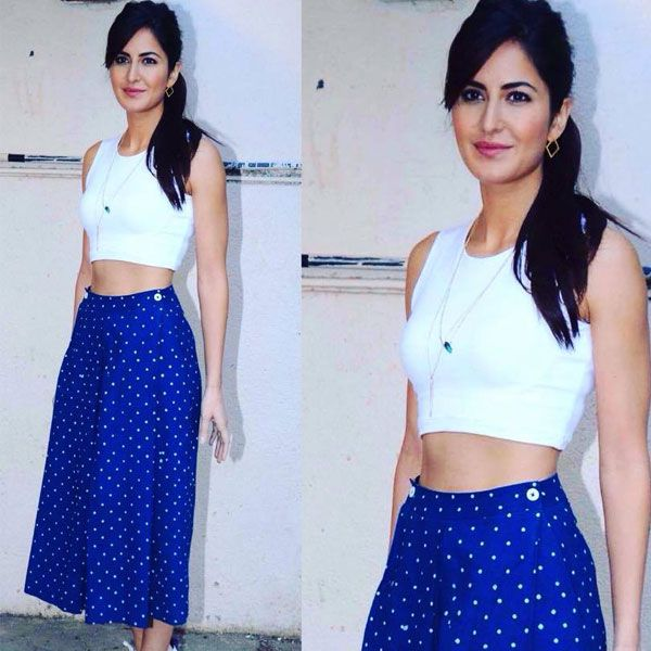 Katrina Kaif in Dhruv Kapoor for 'Fitoor' promotions