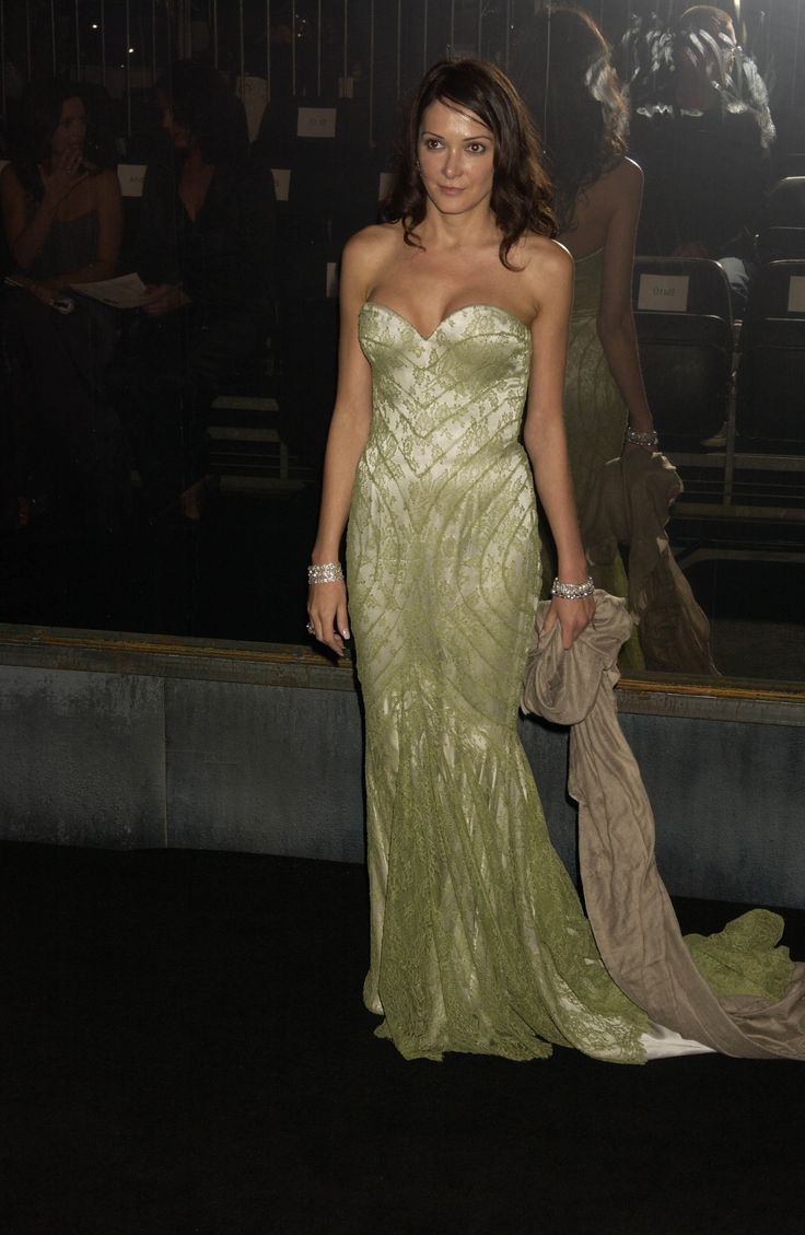 """Annabelle Neilson - Lee called her """"my girl Annie Tinkerbell""""; others says Annabelle Neilson referred to herself as """"Mrs. McQueen,"""" so close were the unlikely pair. They met through Blow in the early '90s, who thought that Neilson could model for the designer, which she did. Unafraid to wear his most demanding and exhibitionist creations, Neilson became, in a manner of speaking, his partner in crime."""