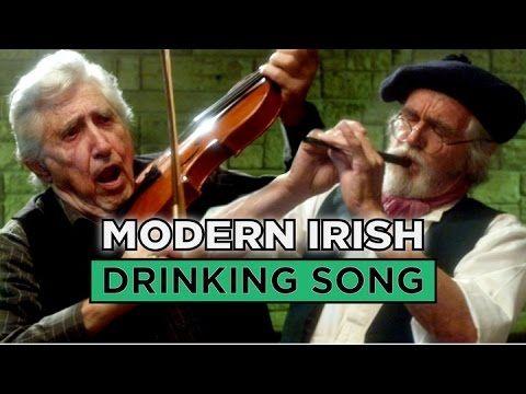 The Modern Irish Drinking Song - YouTube