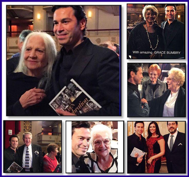 Mario Frangoulis  at the Metropolitan Opera Guild Luncheon with some of the best voices in the operatic world as Teresa Stratas, Grace Bumbry , Marilyn Horne, Renata Scotto, Sheril Milnes and Alvaro Domingo and beautiful Andrea! A day to always remember...