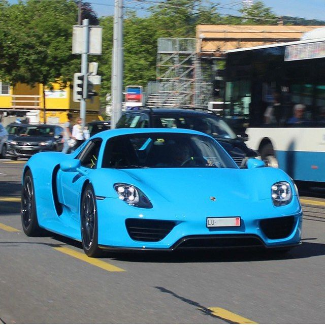 baby blue porsche 918 cars pinterest porsche 918. Black Bedroom Furniture Sets. Home Design Ideas