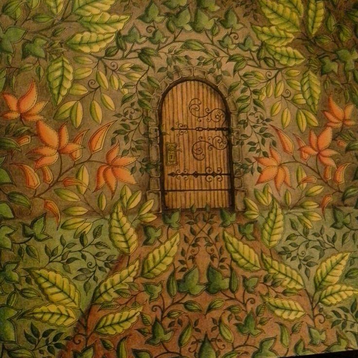 13 Best Coloring Johanna Basford Secret Door Images On Pinterest