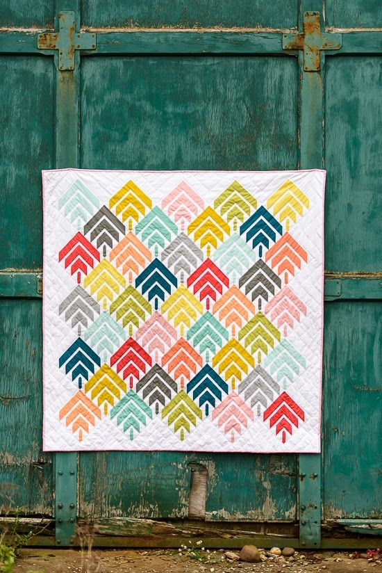 woodcut quilt // bijou lovely