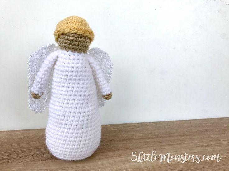 660 mejores imágenes de Crochet Angels en Pinterest | Ángeles de ...
