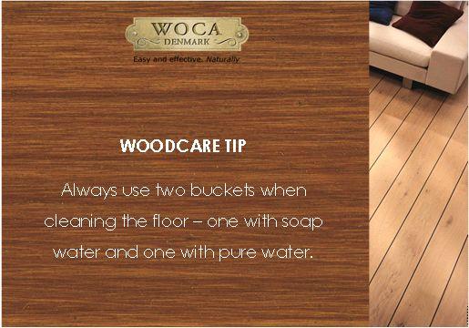Woodcare tip - flooring