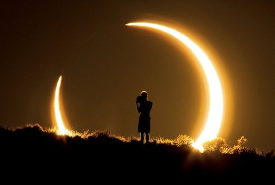 Awesome Nov. 2012 Solar eclipse Love