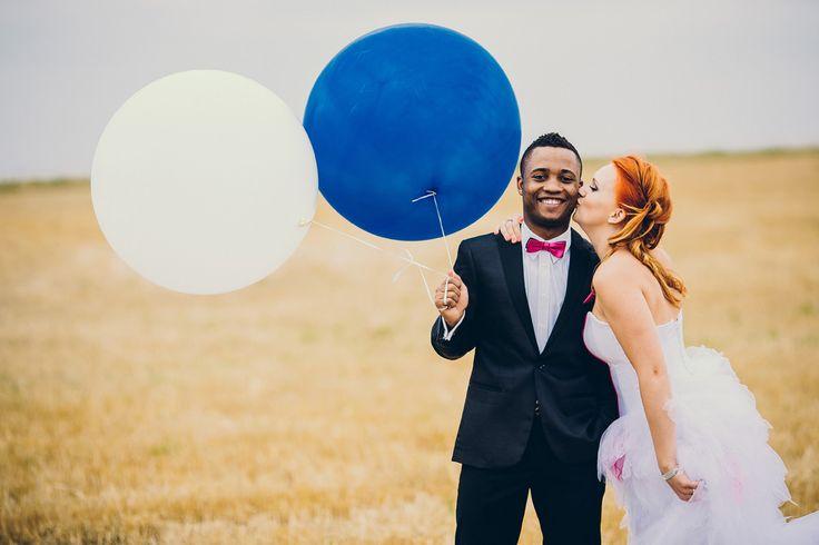 Ślubna sesja plenerowa