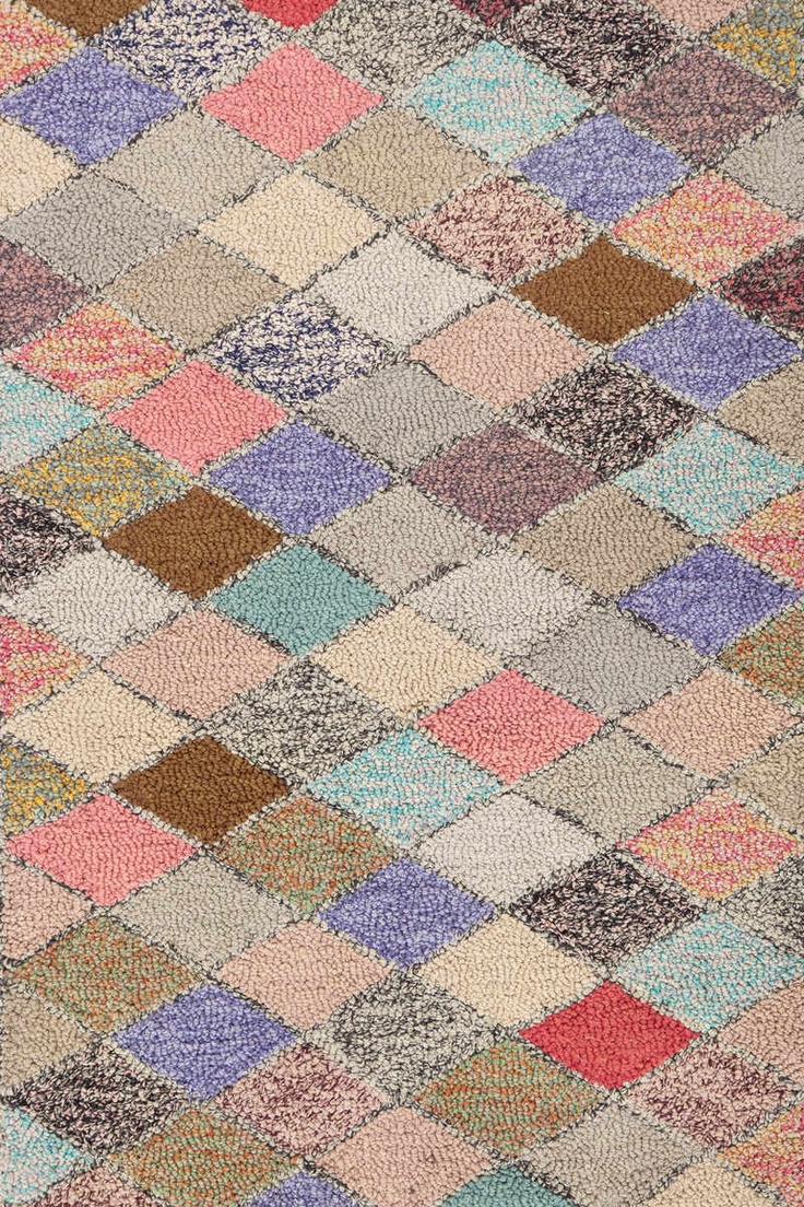 dash u0026 albert rug company harlequin cotton hooked rug - Colorful Area Rugs