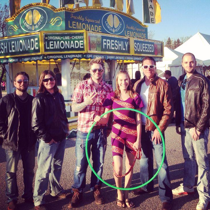 The First Born Sons w/ The Crazy Hula Hooper at Brandon summer fair 2014