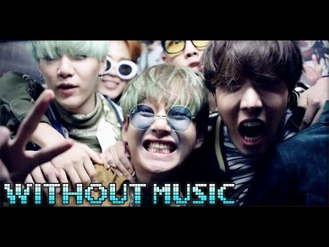 WITHOUT MUSIC/RUN - BTS - YouTube