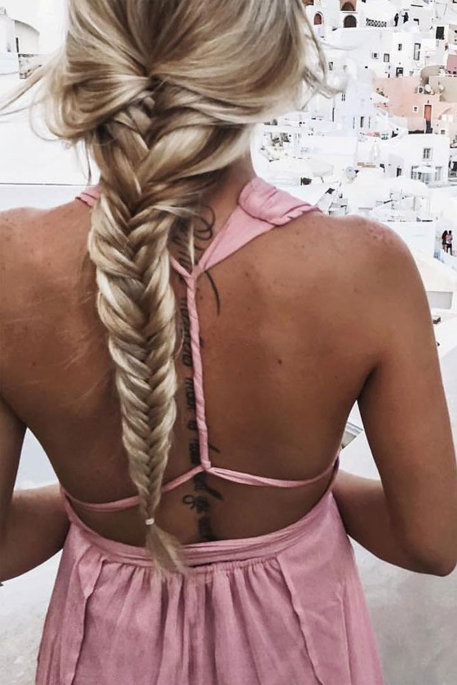 Simple Travel Hairstyles for Long Hair