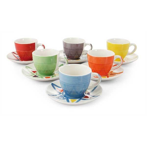 Scopri le tazzine da caffè Villa d'Este Solemio dal design elegante e colorato !