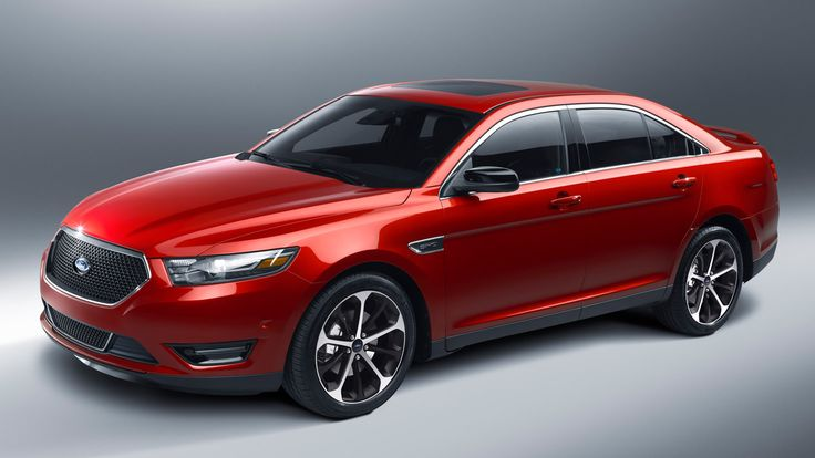 2015 Ford Taurus SHO Red Pictures