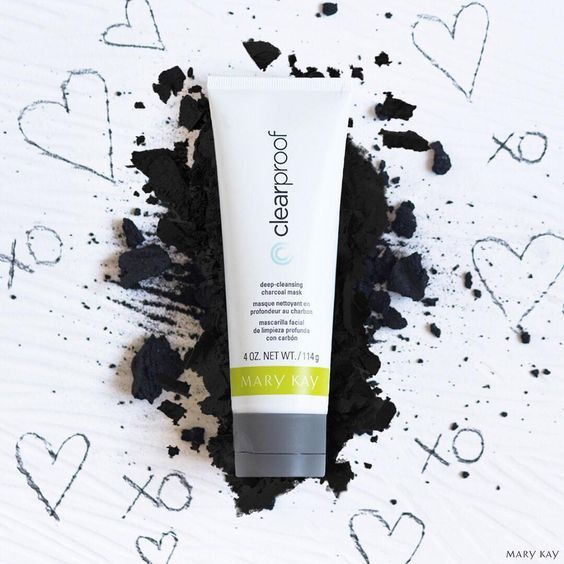 Mary Kay's brand new Charcoal Mask! It pulls all the gunk out of your pores, and leaves your skin soft and smooth! www.marykay.ca/megane