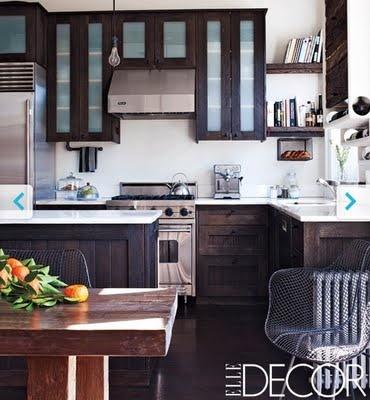 Beau style de cuisine pour un chalet dream home for Russells kitchen units