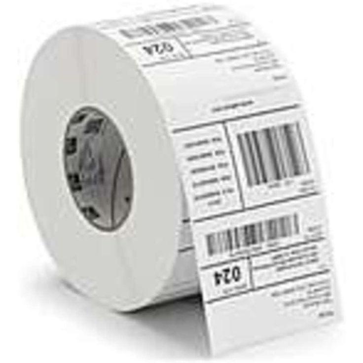 Zebra Label Polyester 4 x 2.5in Thermal Transfer Zebra Z-Ultimate 4000T 3 in core - Permanent Adhesive - 4 Width x 2...