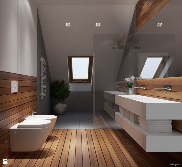 Łazienka styl Nowoczesny - zdjęcie od PROJEKTYW | Architektura Wnętrz &…