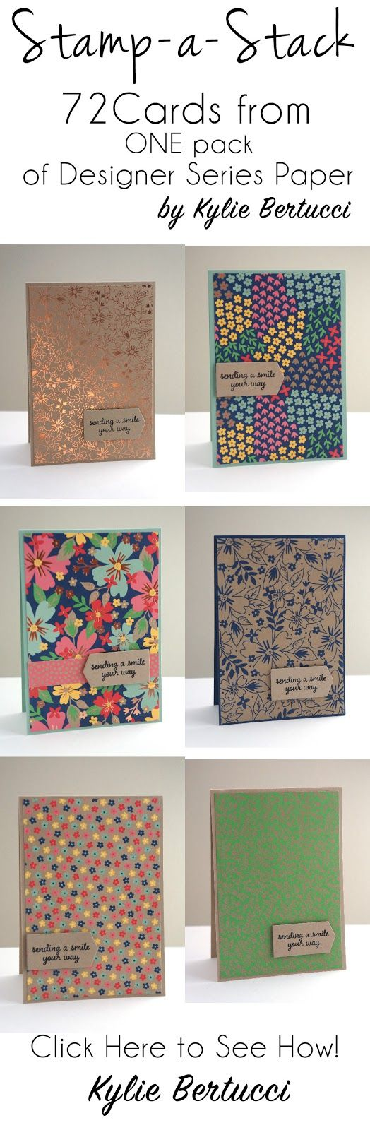 Stampin' Up! Australia: Kylie Bertucci Independent Demonstrator: Stamp a Stack with Affectionately Yours