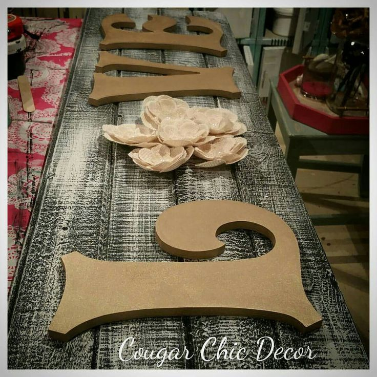 Can you feel the #love?? Sneak peek at some of the #barnwood #signs I'm working on for #thealbertadamesvintageshindig #october24 &#october25 at #thecalgarywomensshow in #calgary #girlsweekend #youdontwanttomissthis #getyourblingon www.albertadames.ca