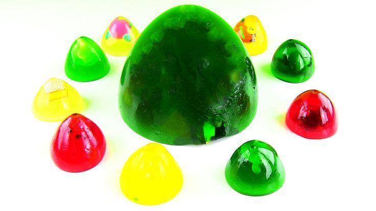 Jöle Sürpriz Yumurta Açma Pudding Jelly Surprise Egg