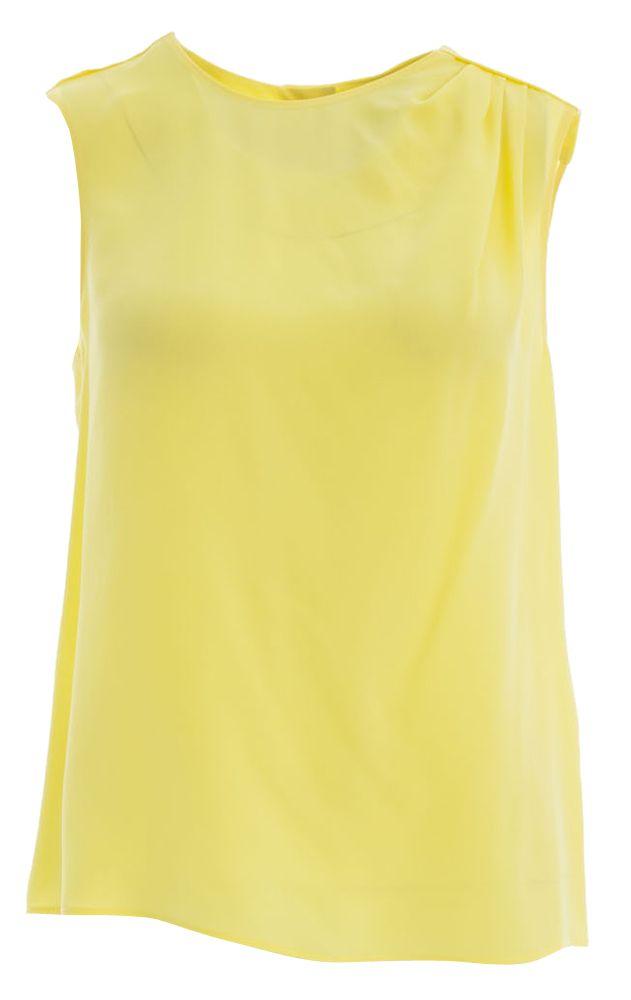 Gele blouse tara jarmon online bij Deleye.be & BeKult