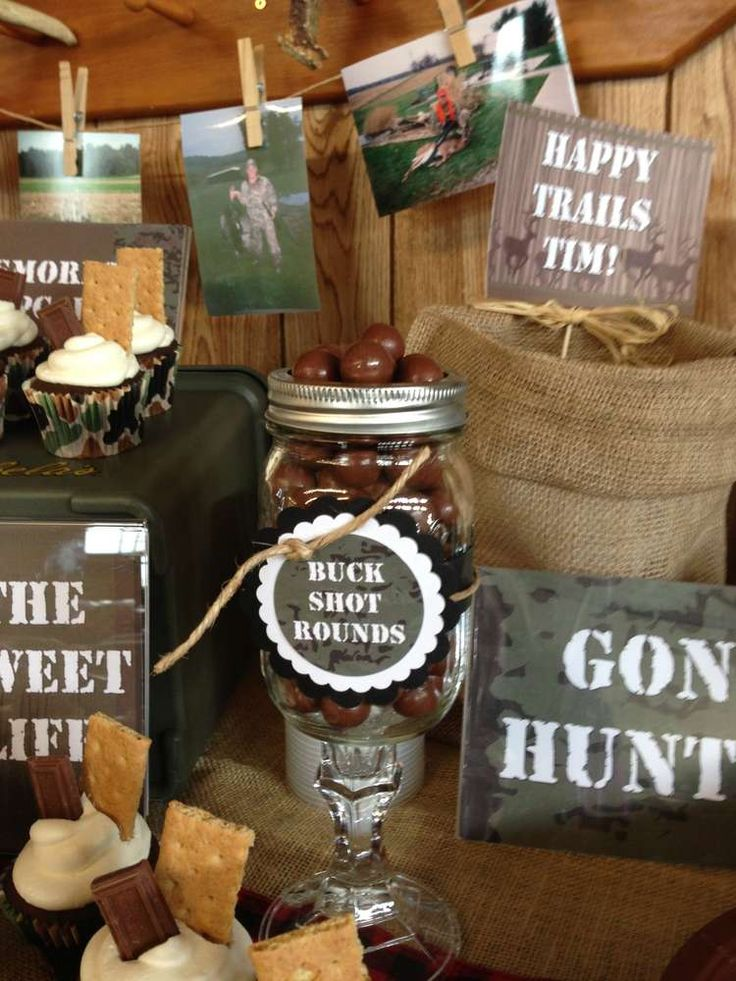 "Gone Huntin', Gone Fishin', Gone Farmin' Farewell Party ""Buck Shot Rounds"" in a redneck wine glass!"