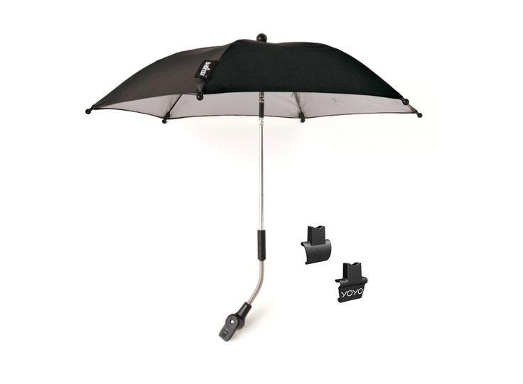 Babyzen YOYO parasoll, svart - Bonti