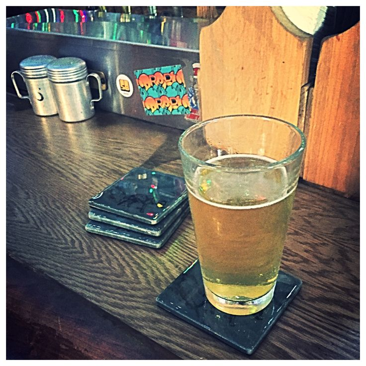 Better your coaster than your bar.