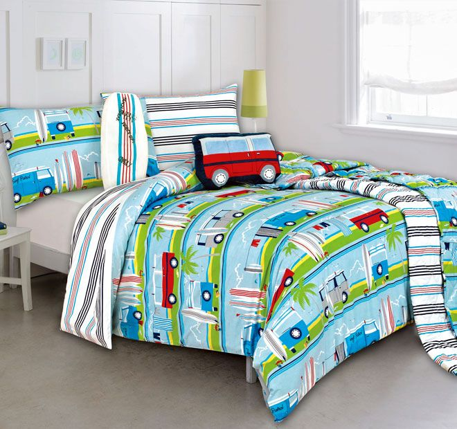 Kooky Surfs Up Quilt Cover Set Range