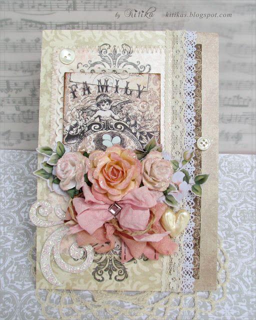 Какао и ваниль - открытка свадебная. Сocoa