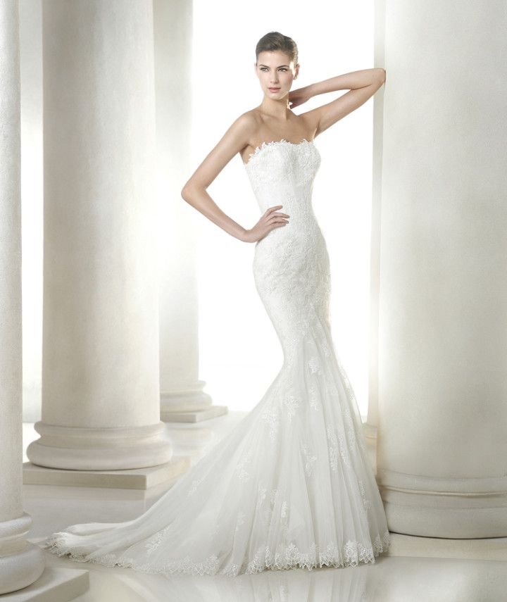 Absolutely classic and stunning. San Patrick 2015 Bridal Collection