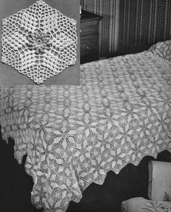 Dorable Crochet Patterns For Bedspreads Collection - Easy Scarf ...