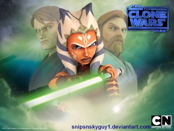 Anakin Skywalker, Ahsoka Tano, Obi-Wan Kenobi :)   Ahsoka Tano ...