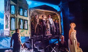 An Inspector Calls by JB Priestley, directed by Stephen Daldry at the Playhouse Theatre.
