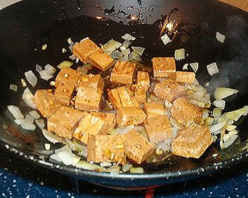 A Photo Guide to the Best Method for Pressing Tofu: OPTIONAL: Slice and freeze tofu.