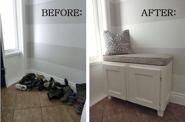 d i y d e s i g n: design on a dime -I really like this idea of a shoe cubby by the front door.  Looks good and keeps shoes out of sight.