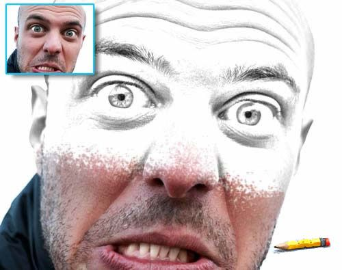 Pencil Draw Photoshop Action by bati1975