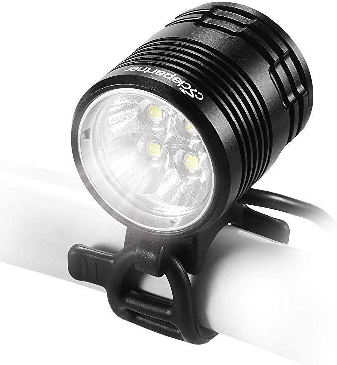 CYGOLITE Bicycle Light Combo Set USB Rechargeable HOTROD 110 Lumen /& HOTROD 50