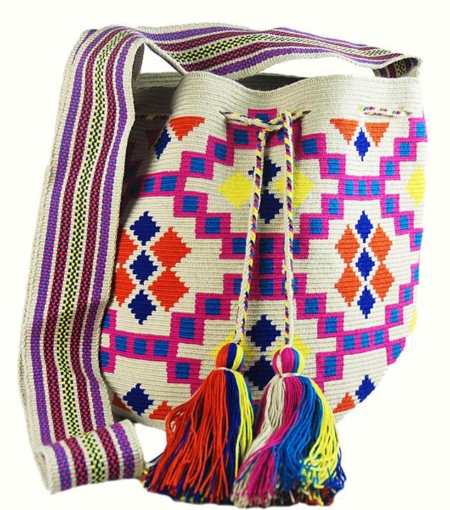Guanabana handmade Wayuu bag