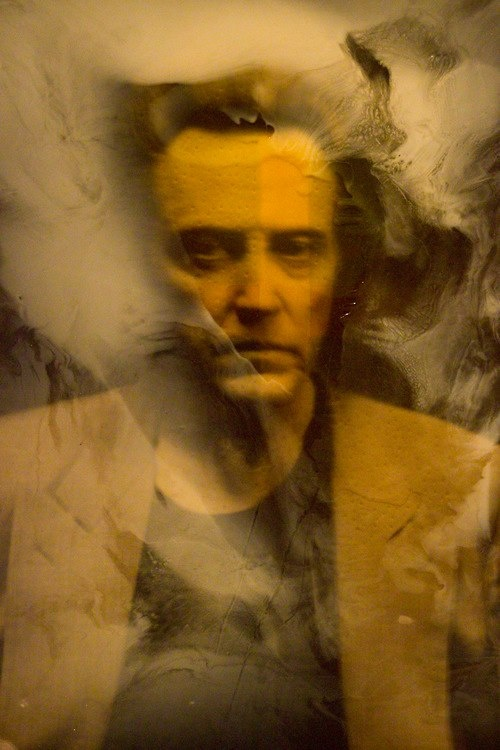 Christopher Walken by Julian Schnabel