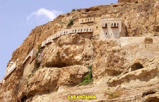 Pustiul din Carantania în care a postit Mântuitorul 40 de zile și a fost ispitit de diavolul   La Taifas