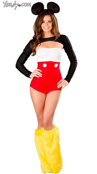 Yandy has hundreds of cartoon character costumes like this Sexy Tux and Ears! #Yandy