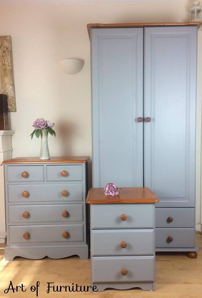 Pine Rustic Country Bedroom Furniture Set Of Chest Of Drawers
