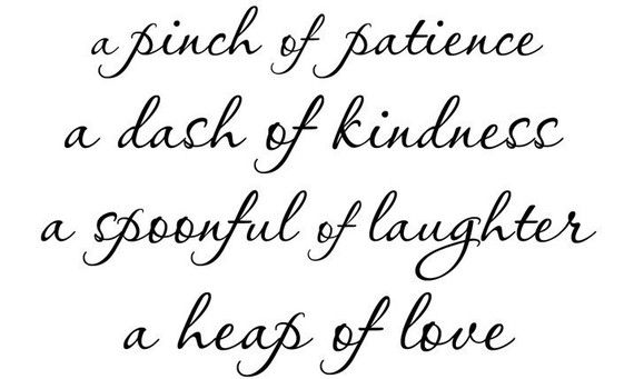 A Pinch Of Patience A Dash Of Kindnessdesign By