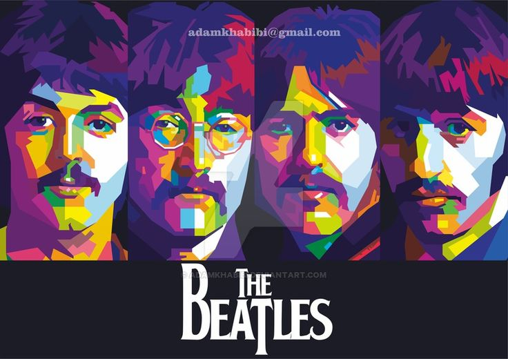 WPAP The Beatles by AdamKhabibi