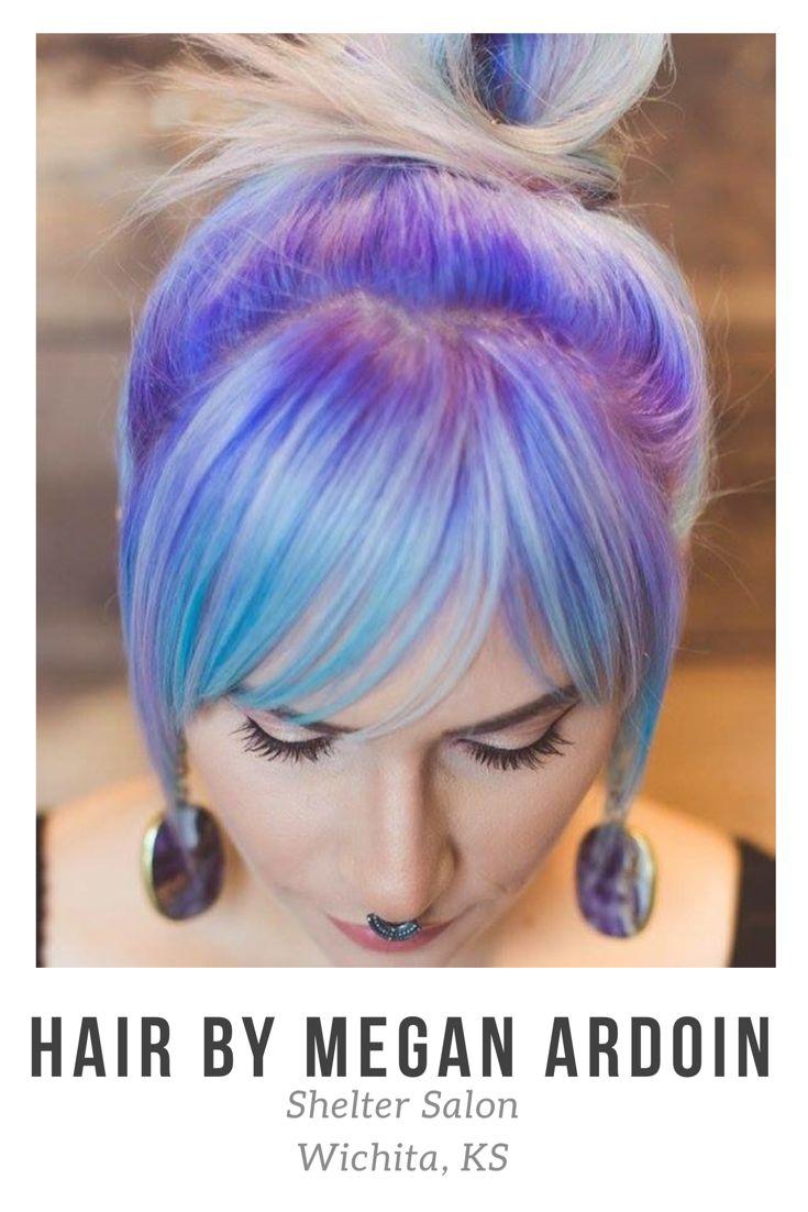 Cut & color by Megan Ardoin | Shelter Salon | Wichita, KS | Pulp Riot Color |  : Kay & Bee Studios