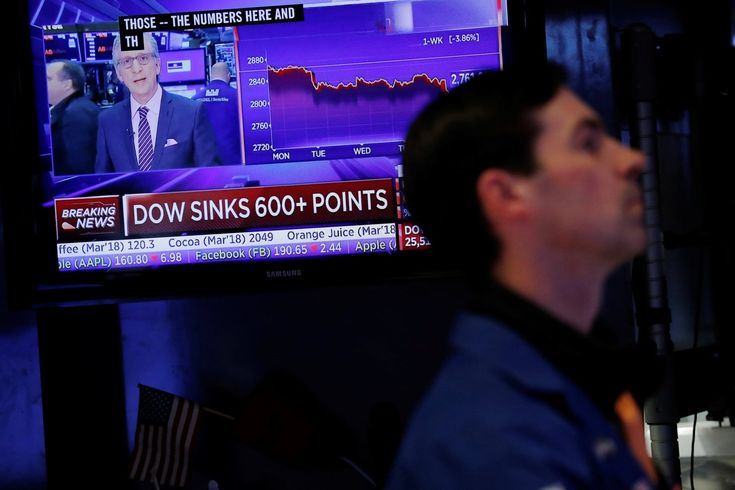 "Trump's favorite indicator of his success just took a beating (stock market...""That's the largest single-day fall of his presidency. In fact, it's the sharpest plunge since 2008 and the sixth-worst fall since 1980. (The five days that were worse happened when markets reopened after 9/11 and during the economic crisis in late 2008.)"""