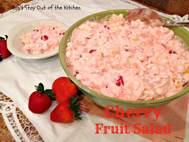 Cherry Fruit Salad - Recipe Pix 10 076