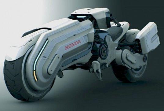 Star Wars-Inspired Honda Chopper Concept is a Stormtrooper's Dream