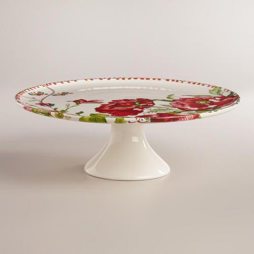 WorldMarket.com Nomad Flower Pedestal Stand · Pedestal StandButterfly CakesPlate StandsStand ForCake ... & 251 best Dishes Serveware etc. images on Pinterest | Dinnerware ...